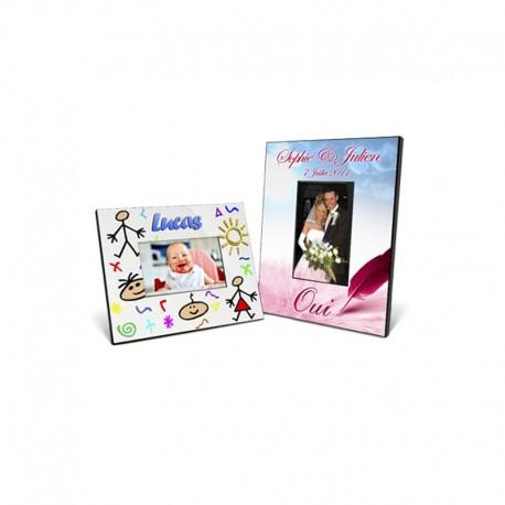 Id e cadeau cadre personnalis avec photo - Cadre photo mariage personnalise ...
