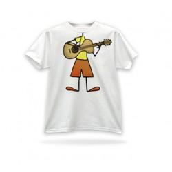 T-shirt couleur beige