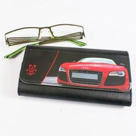 Etui pour lunettes  en cuir synthétique